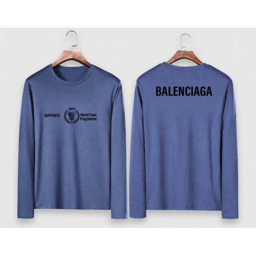 Balenciaga T-Shirts Long Sleeved For Men #910631