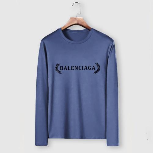 Balenciaga T-Shirts Long Sleeved For Men #910641
