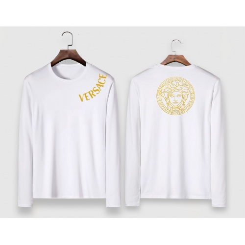 Versace T-Shirts Long Sleeved For Men #910647 $34.00 USD, Wholesale Replica Versace T-Shirts