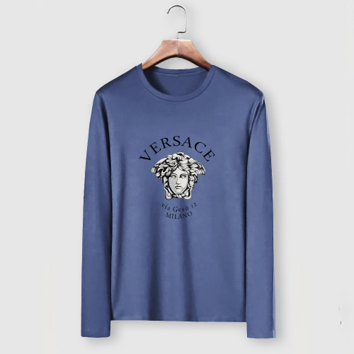Versace T-Shirts Long Sleeved For Men #910652
