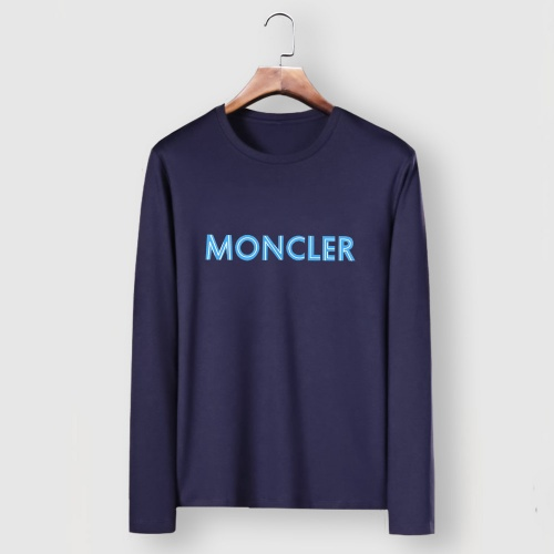 Moncler T-Shirts Long Sleeved For Men #910709 $34.00 USD, Wholesale Replica Moncler T-Shirts