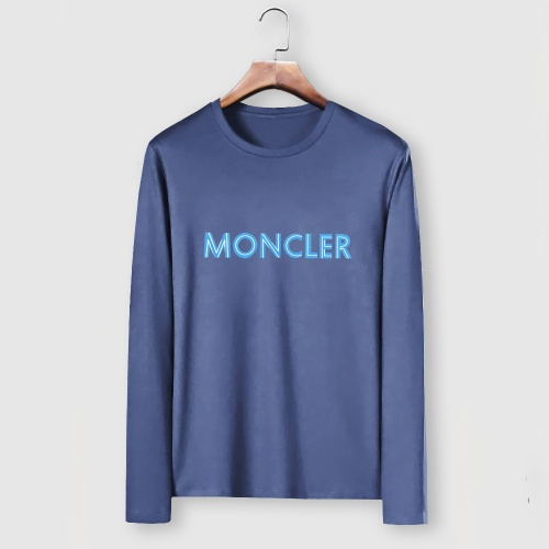 Moncler T-Shirts Long Sleeved For Men #910710 $34.00 USD, Wholesale Replica Moncler T-Shirts