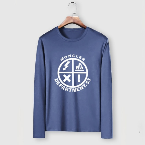 Moncler T-Shirts Long Sleeved For Men #910711 $34.00 USD, Wholesale Replica Moncler T-Shirts