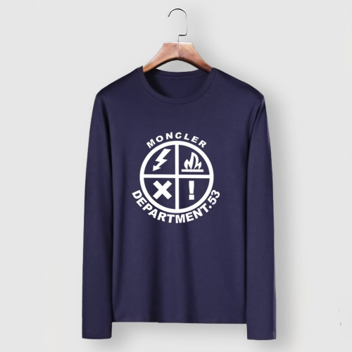 Moncler T-Shirts Long Sleeved For Men #910712 $34.00 USD, Wholesale Replica Moncler T-Shirts