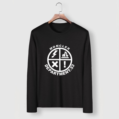Moncler T-Shirts Long Sleeved For Men #910713 $34.00 USD, Wholesale Replica Moncler T-Shirts