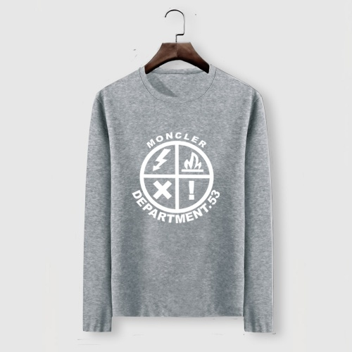 Moncler T-Shirts Long Sleeved For Men #910714 $34.00 USD, Wholesale Replica Moncler T-Shirts