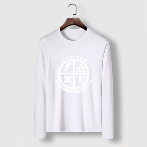 Moncler T-Shirts Long Sleeved For Men #910715 $34.00 USD, Wholesale Replica Moncler T-Shirts