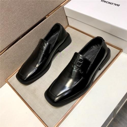 Balenciaga Leather Shoes For Men #910846