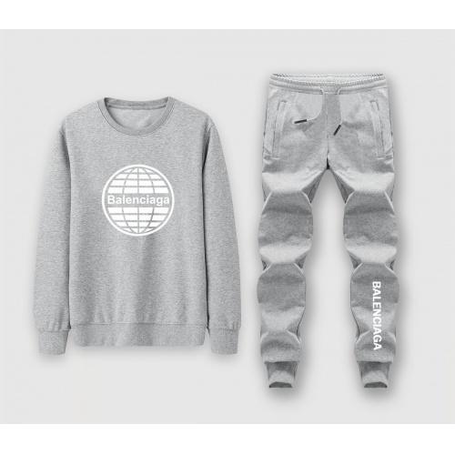 Balenciaga Fashion Tracksuits Long Sleeved For Men #911092