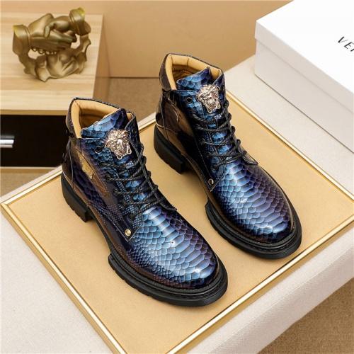 Versace Boots For Men #911687