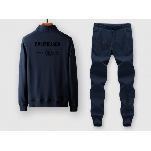 Balenciaga Fashion Tracksuits Long Sleeved For Men #911900