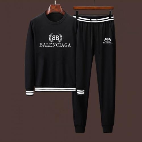 Balenciaga Fashion Tracksuits Long Sleeved For Men #911907