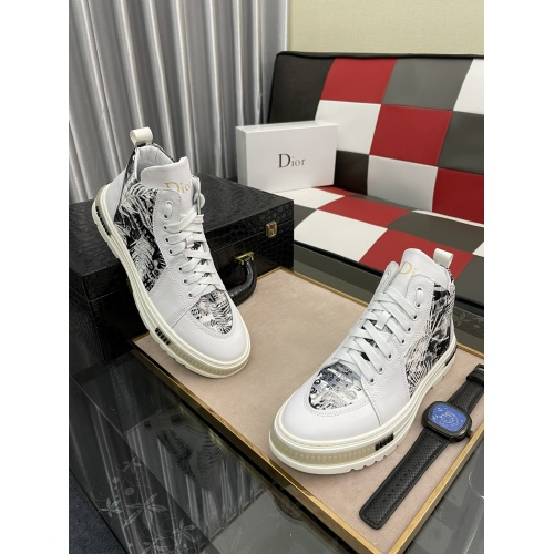 Christian Dior High Tops Shoes For Men #912676