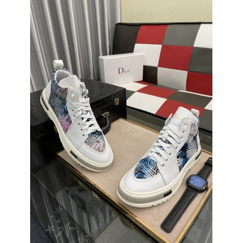 Christian Dior High Tops Shoes For Men #912677