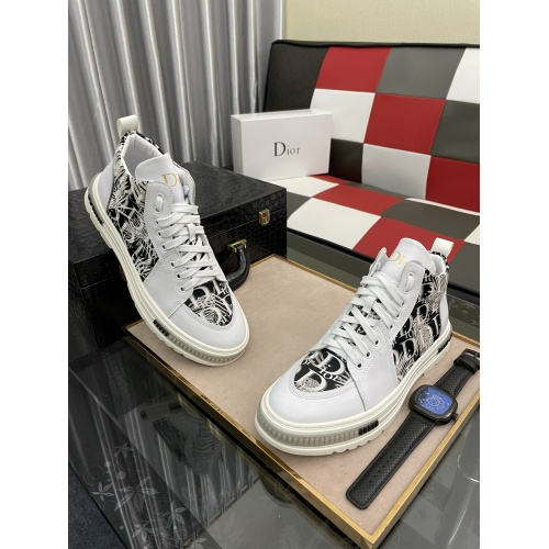 Christian Dior High Tops Shoes For Men #912678