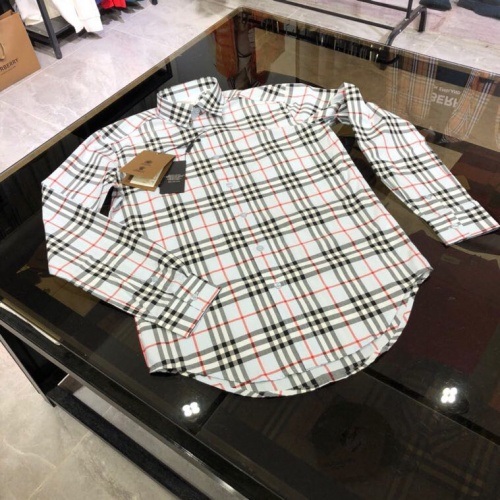 Burberry Shirts Long Sleeved For Men #912790