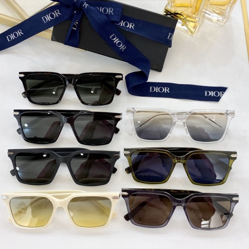 Replica Christian Dior AAA Quality Sunglasses #913763 $60.00 USD for Wholesale