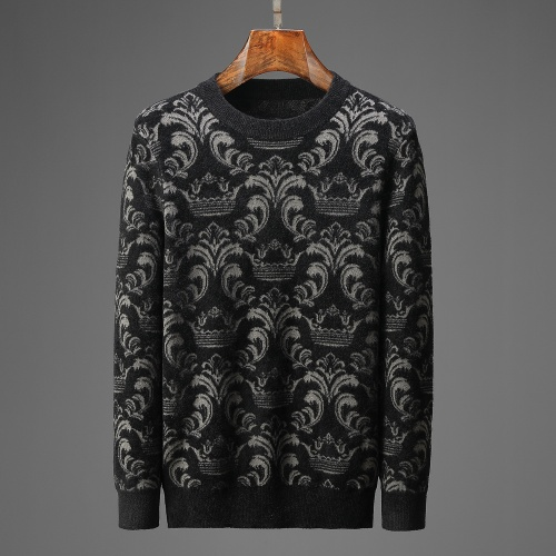 Versace Sweaters Long Sleeved For Men #914021
