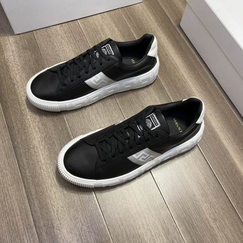 Replica Versace Casual Shoes For Men #914245 $72.00 USD for Wholesale