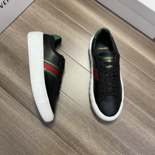 Replica Versace Casual Shoes For Men #914246 $72.00 USD for Wholesale