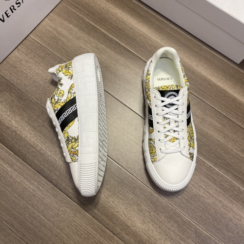 Replica Versace Casual Shoes For Men #914247 $68.00 USD for Wholesale