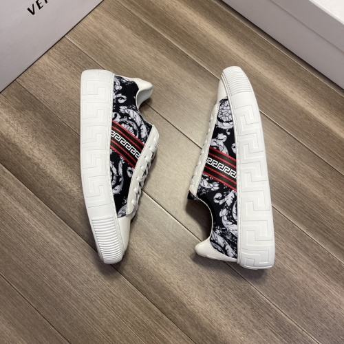 Replica Versace Casual Shoes For Men #914248 $68.00 USD for Wholesale