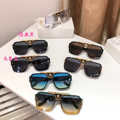 Replica Versace AAA Quality Sunglasses #914550 $60.00 USD for Wholesale