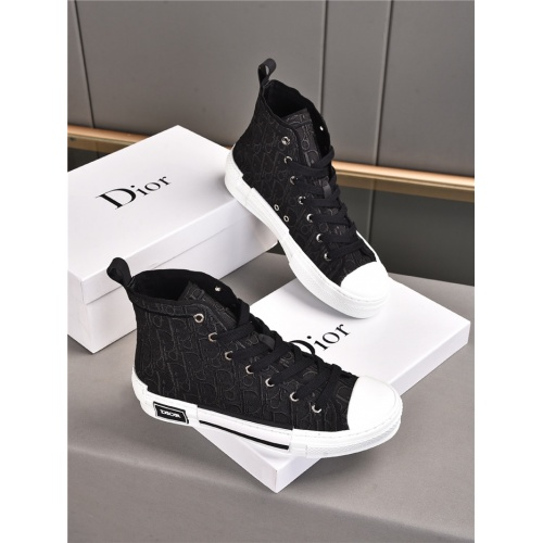 Christian Dior High Tops Shoes For Men #914647