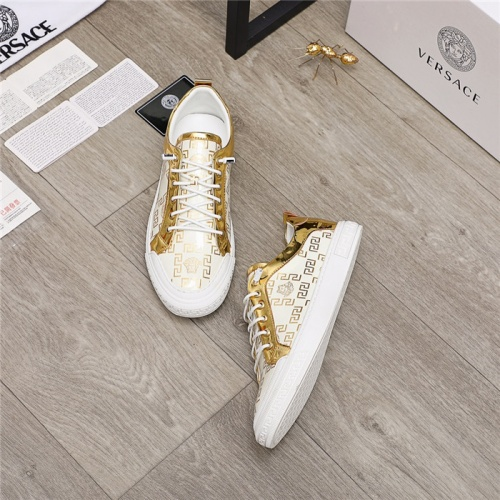 Replica Versace Casual Shoes For Men #914686 $68.00 USD for Wholesale