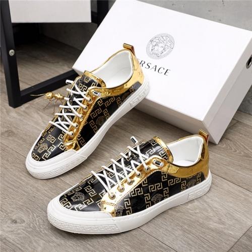 Versace Casual Shoes For Men #914687 $68.00 USD, Wholesale Replica Versace Casual Shoes