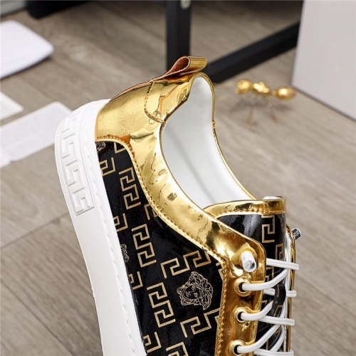 Replica Versace Casual Shoes For Men #914687 $68.00 USD for Wholesale