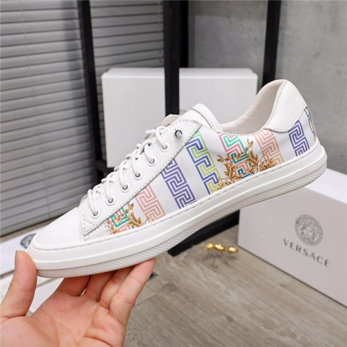 Replica Versace Casual Shoes For Men #914688 $68.00 USD for Wholesale
