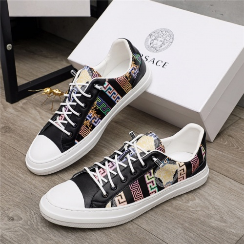 Versace Casual Shoes For Men #914689 $68.00 USD, Wholesale Replica Versace Casual Shoes