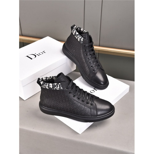 Christian Dior High Tops Shoes For Men #914705