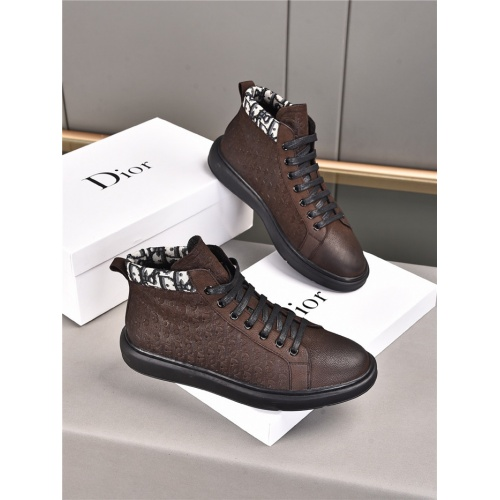 Christian Dior High Tops Shoes For Men #914706