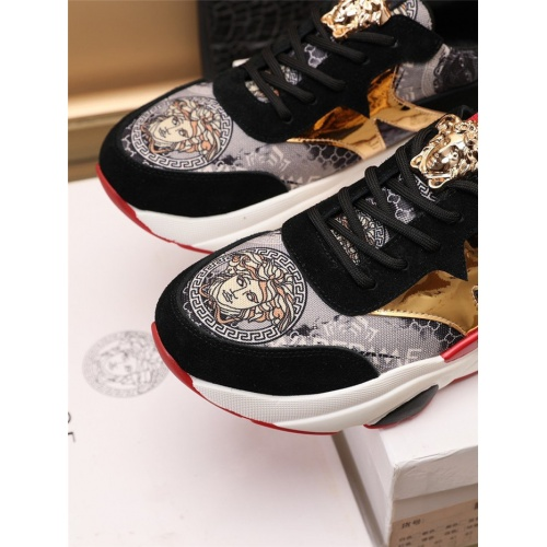 Replica Versace Casual Shoes For Men #915051 $82.00 USD for Wholesale