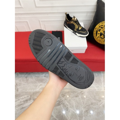 Replica Versace Casual Shoes For Men #915244 $80.00 USD for Wholesale