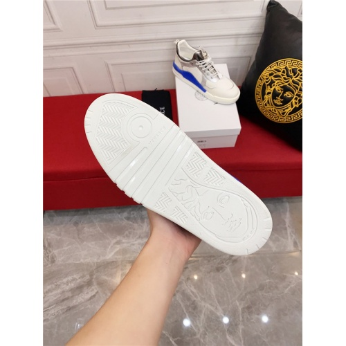 Replica Versace Casual Shoes For Men #915246 $80.00 USD for Wholesale