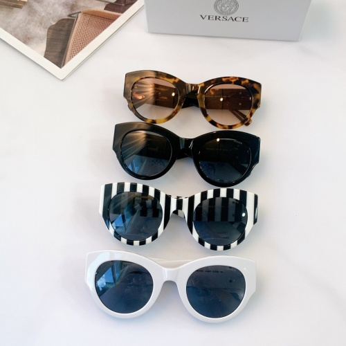 Replica Versace AAA Quality Sunglasses #915429 $56.00 USD for Wholesale