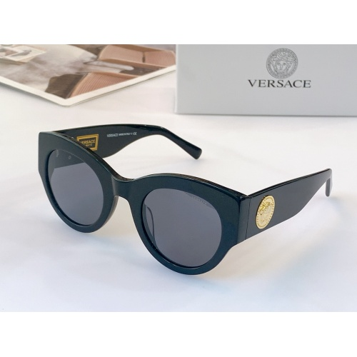 Versace AAA Quality Sunglasses #915430 $56.00 USD, Wholesale Replica Versace AAA+ Sunglasses