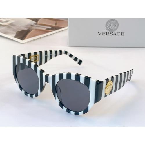 Versace AAA Quality Sunglasses #915431 $56.00 USD, Wholesale Replica Versace AAA+ Sunglasses