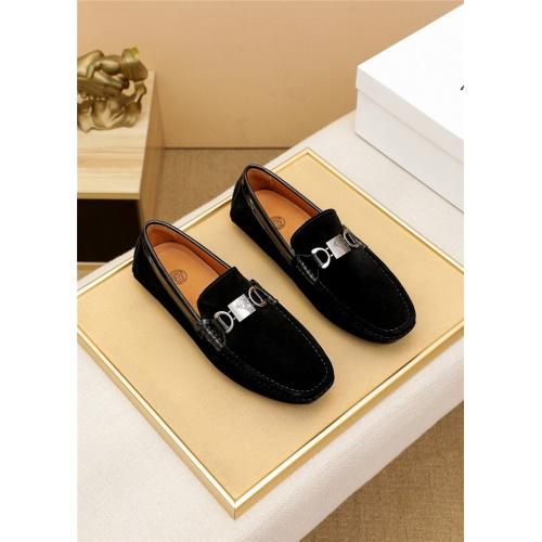 Versace Leather Shoes For Men #915448 $68.00 USD, Wholesale Replica Versace Leather Shoes