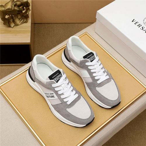Versace Casual Shoes For Men #915452 $76.00 USD, Wholesale Replica Versace Casual Shoes