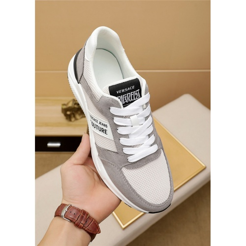 Replica Versace Casual Shoes For Men #915452 $76.00 USD for Wholesale