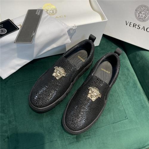 Versace Casual Shoes For Men #915479 $88.00 USD, Wholesale Replica Versace Casual Shoes