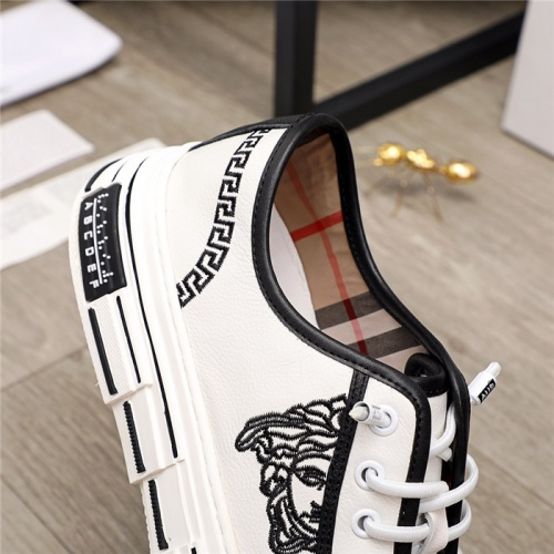 Replica Versace Casual Shoes For Men #915509 $80.00 USD for Wholesale