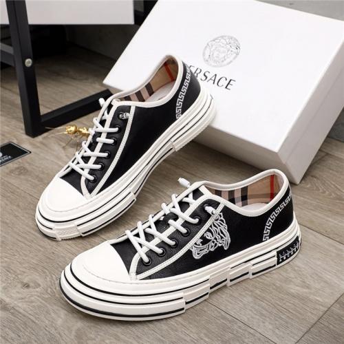Versace Casual Shoes For Men #915510 $80.00 USD, Wholesale Replica Versace Casual Shoes