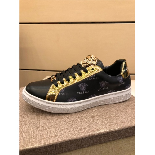 Replica Versace Casual Shoes For Men #915512 $72.00 USD for Wholesale