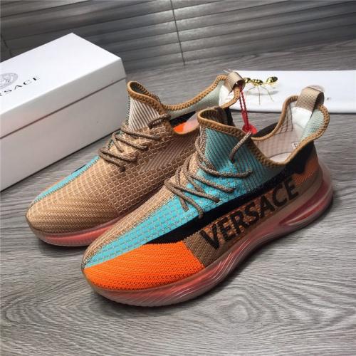 Versace Casual Shoes For Men #915514 $76.00 USD, Wholesale Replica Versace Casual Shoes