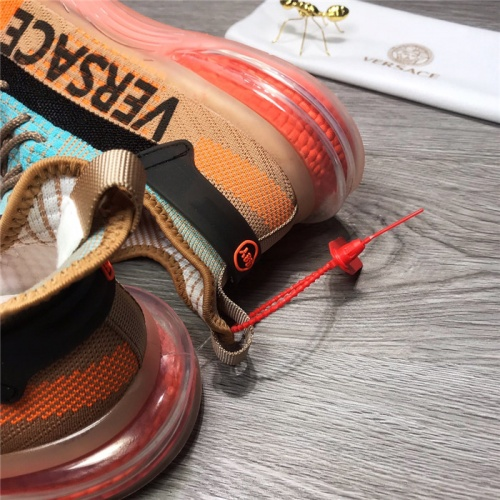 Replica Versace Casual Shoes For Men #915514 $76.00 USD for Wholesale